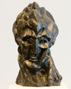 Tremendous knowledge … Picasso's Head of a Woman, from his African period.
