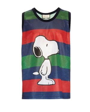 Gucci Snoopy vest