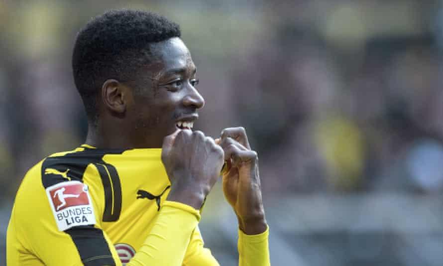 Dortmund's Ousmane Dembélé
