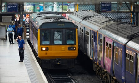 Manchester Piccadilly station, where a new stop for through trains on the Northern Powerhouse Rail line is proposed.