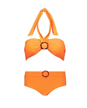 Orange halter, £7, bottoms, £8, Tu, sainsburys.co.uk
