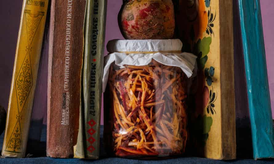 Beetroot and carrot pickle