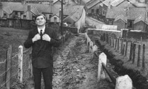 Nye Bevan, architect of the NHS, in his hometown, Tredegar