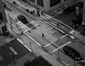 Spring Shadows in New York.