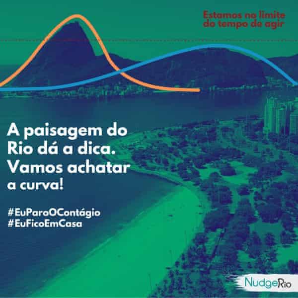 The NudgeRio Flatten the curve campaign