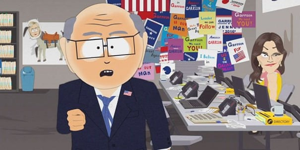 South Park spoofs the US election result: 'What have you