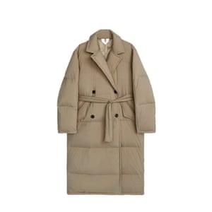 Belted padded, £250, arket.com.