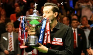 Mark Selby will be on the hunt for a third consecutive world snooker championship title in Sheffield.