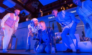 Emily Howard's To See The Invisible, with Nicholas Morris, Nathan Vale, Daniel Norman, Peter Savidge and Anne Mason, in an Aldeburgh festival production
