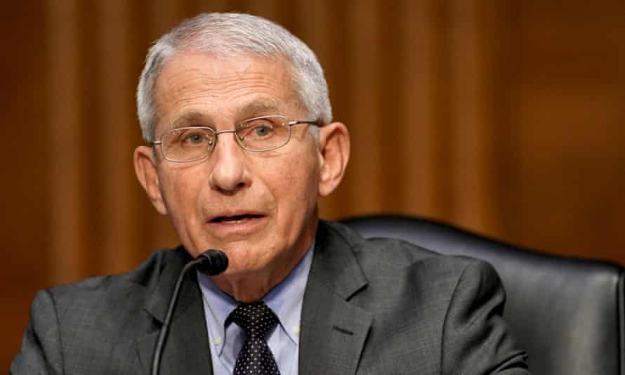 'The more and more people that can get vaccinated, as a community, the community will be safer and safer,' Fauci said.