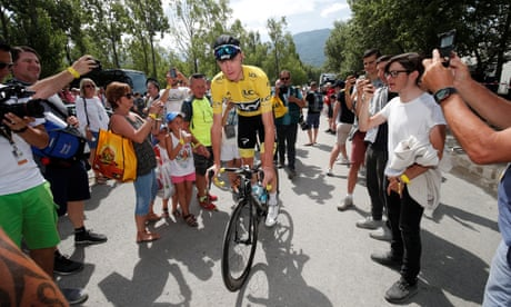 On the verge of Tour victory … but will Chris Froome win British hearts?