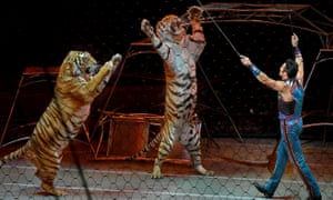 The final tour of the Ringling Bros circus
