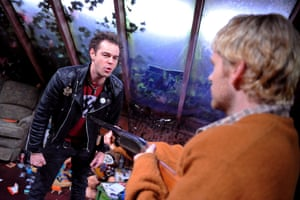 Danny Dyer and Shaun Evans in Kurt and Sid, Trafalgar Studios, London, 2009.