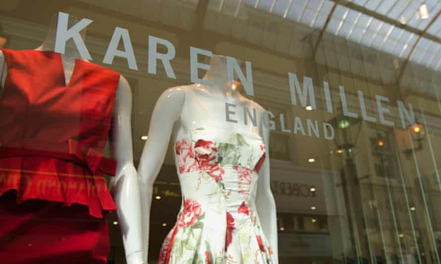 a karen millen shop front