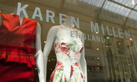 Karen Millen shop window