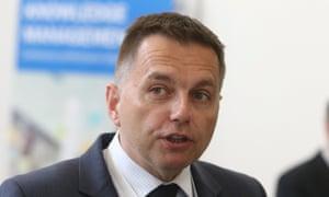 Slovakia's finance minister Peter Kazimir at the EBRD
