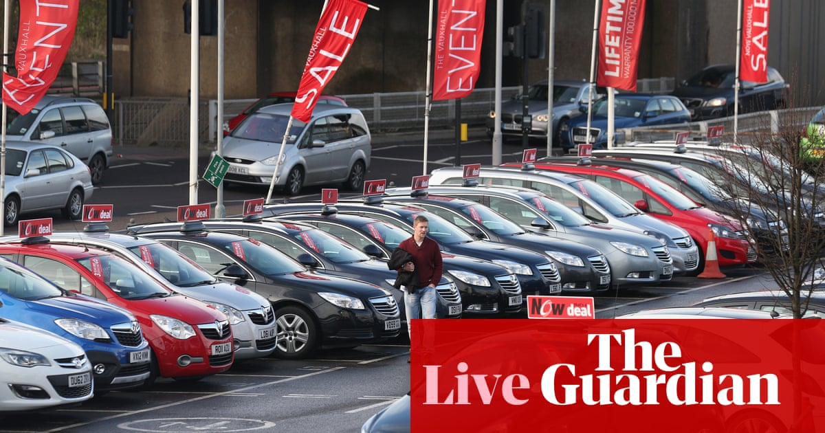 e9448e699c Brexit blamed as UK car sales suffer biggest fall since financial crisis –  as it happened