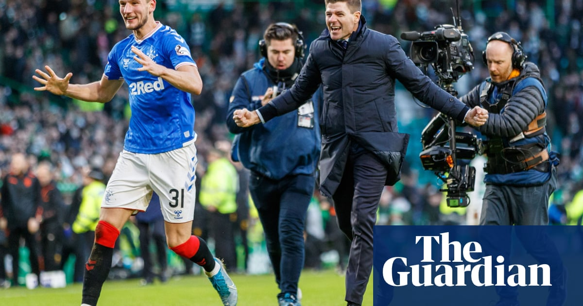 Victory at Celtic shows the progress made by Steven Gerrard's Rangers