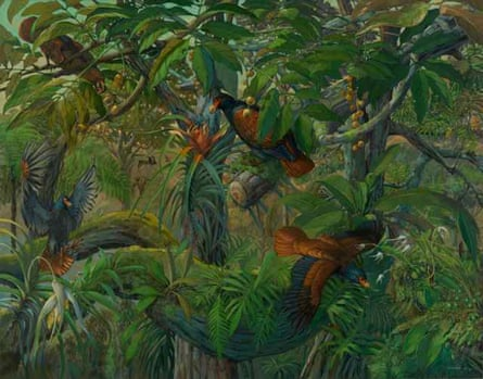 Micheal Rothman's Manumeas in Samoa painted in 2013.