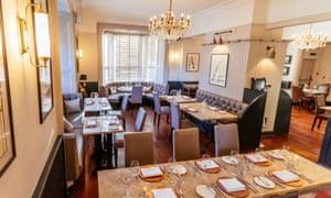 Cold comfort: Restaurant 92, Harrogate.