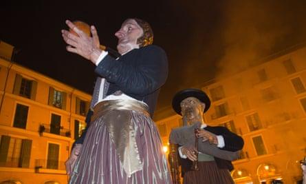 Costume festival fiesta San Sebastian Palma de Majorca