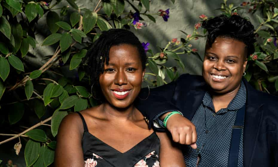 'We're teaching women of colour how to raise money and how to be good negotiators': Tsion 'Sunshine' Lencho and Amber Senter.