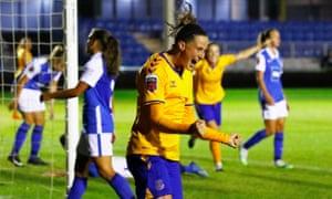 Birmingham 0 3 Everton Women S Fa Cup Semi Final As It Happened Football The Guardian