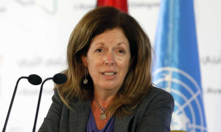 Stephanie Williams, the acting UN special representative for Libya