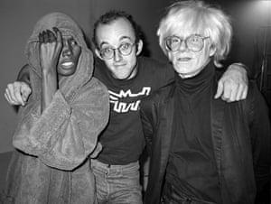 Grace Jones, Keith Haring, Andy Warhol at Paradise GarageNew York, 1983