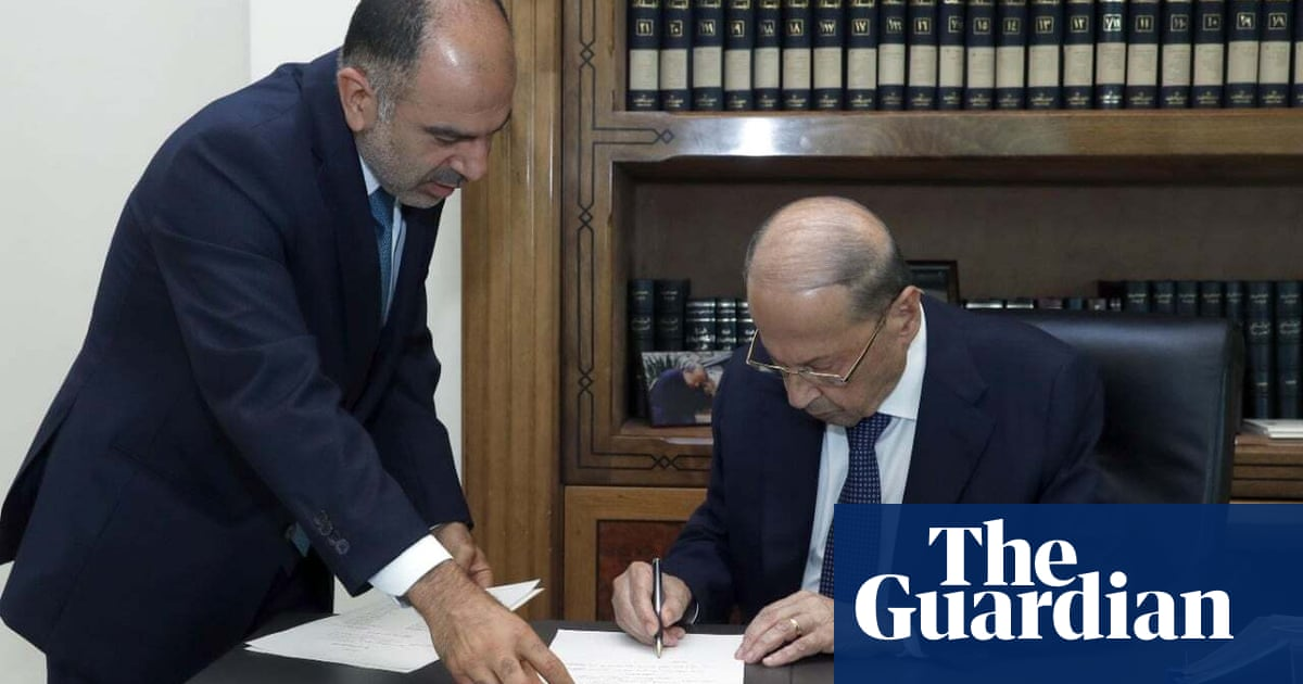 Lebanon forms new government, ending 13-month standoff