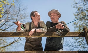 Keeping it reel: Paul Whitehouse and Bob Mortimer.