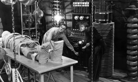 Who put the spark in Frankenstein's monster?