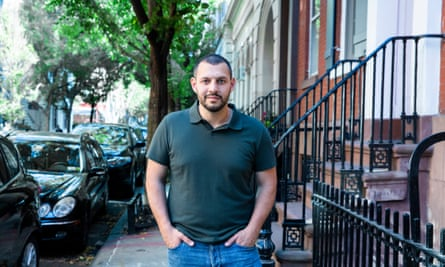 Mathew Shurka in New York City's West Village last month
