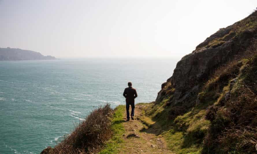 Wheadons Gin Luke Foraging Cliffs, Bella Luce Hotel, Guernsey