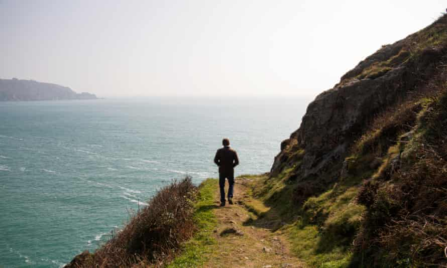 Luke Wheadon goes foraging for botanicals to flavour his gin with, on Guernsey, UK.