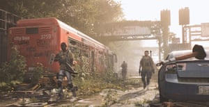 A grim American future in Tom Clancy's The Division 2.