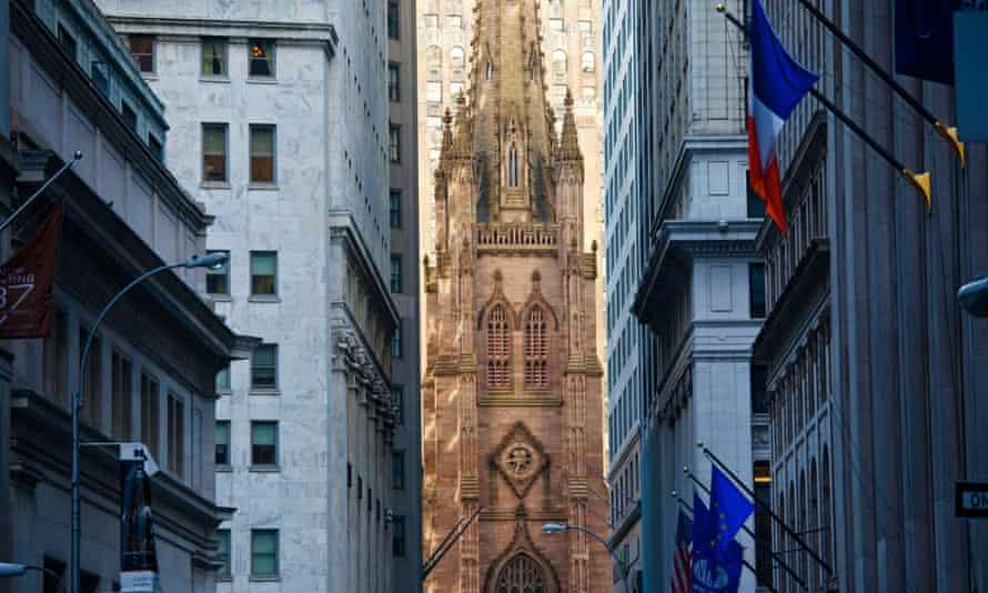 Trinity Church on Wall Street, New York