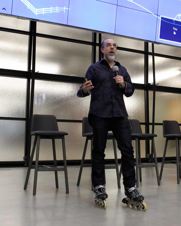 Astro Teller, the 'captain of moonshots' for Google-parent Alphabet.