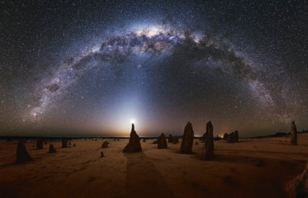 The Milky Way, seen from the Australian desert