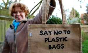 A UK levy of 5p per bag introduced in 2015 has already reduced single-use plastic bags by 85%.