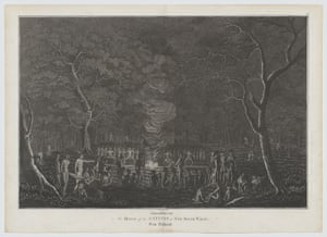 Newcastle tribe in 1818 from An Historical Account of the Colony of New South Wales and its Dependent Settlements