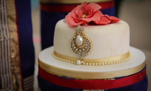 Nadiya's showstopper challenge, where she created a wedding cake to make up for not having one at her marriage in Bangladesh.