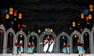 Royal Ballet: Les Patineurs.