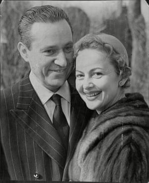 Olivia de Havilland married Pierre Galante in April 1955