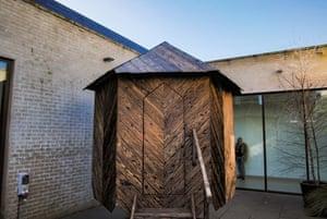Henry Krokatsis: SaunaKabin. Jerwood Gallery, Hastings
