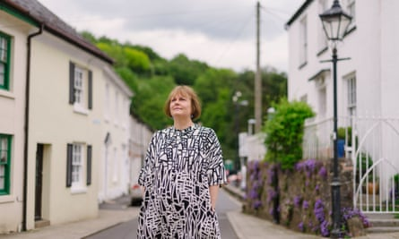 Pam Barrett in Buckfastleigh, Devon.
