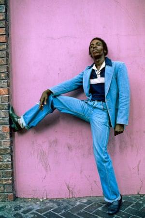 Leroy in Harlem, 1984