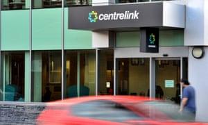 Centrelink signage