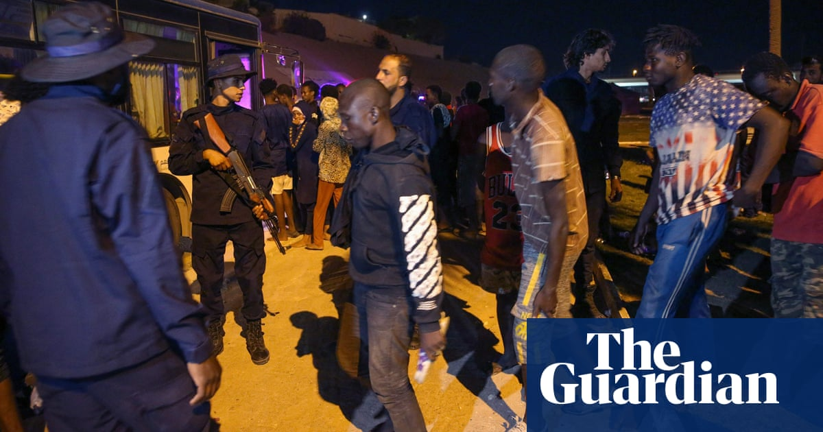 Five migrants shot dead at Libyan detention centre amid mass escape