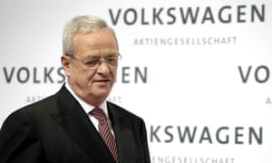 The former VW CEO, Martin Winterkorn